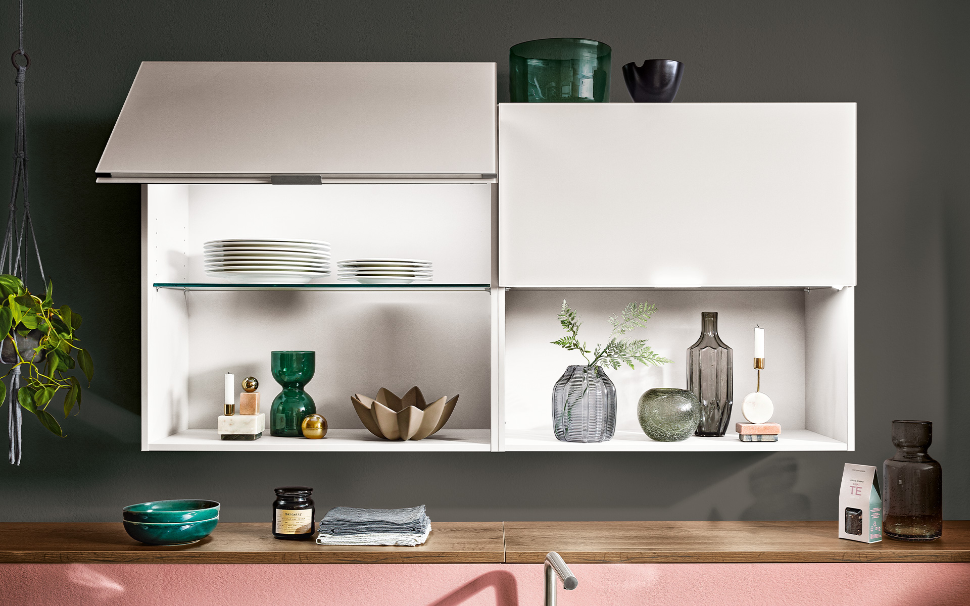 [Translate to Türkçe:] Häcker Kitchens SlightLift